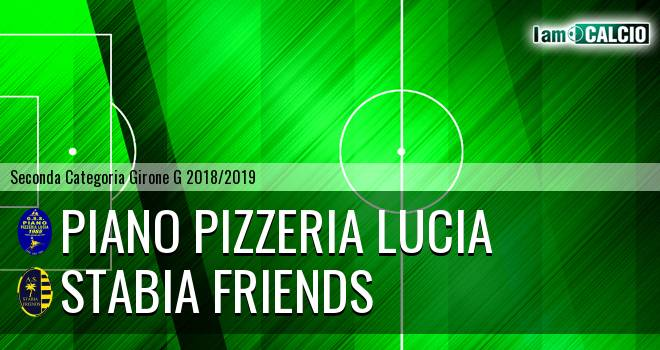 Piano Pizzeria Lucia - Stabia friends