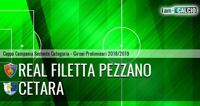 Real Filetta Pezzano - Cetara