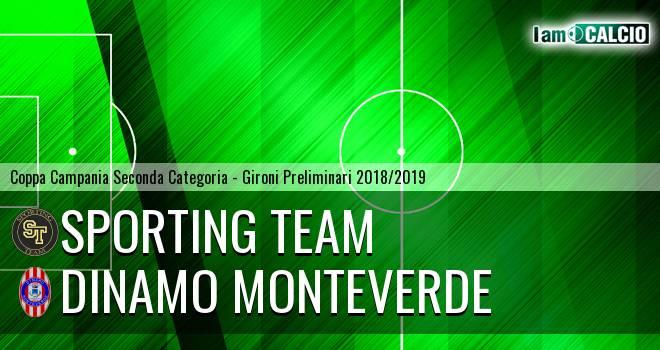 Sporting Team - Dinamo Monteverde
