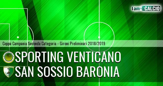 Sporting Venticano - San Sossio Baronia