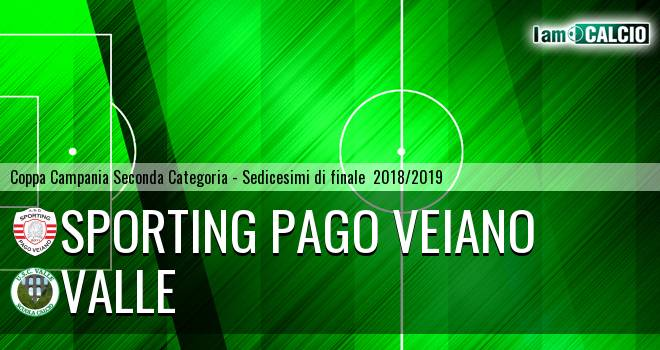 Sporting Pago Veiano - Valle
