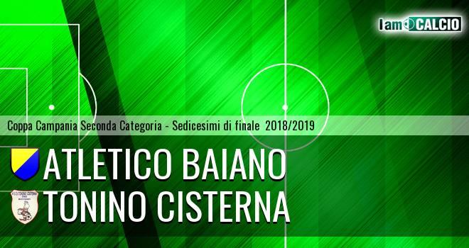 Atletico Baiano - Tonino Cisterna