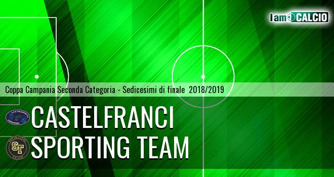 Castelfranci - Sporting Team