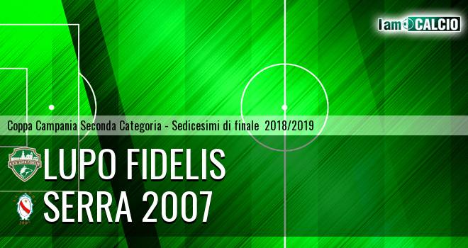 Lupo Fidelis - Serra 2007