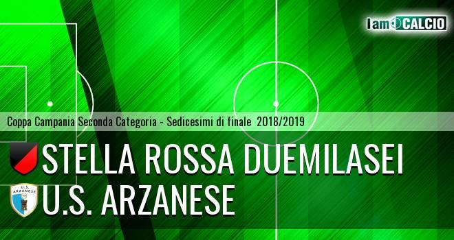 Stella Rossa Duemilasei - U.S. Arzanese