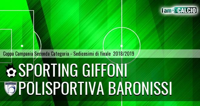 Sporting Giffoni - Polisportiva Baronissi