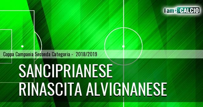 Sanciprianese - Rinascita Alvignanese