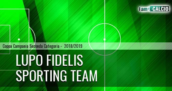 Lupo Fidelis - Sporting Team Maroso