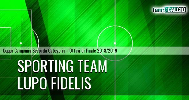 Sporting Team Maroso - Lupo Fidelis