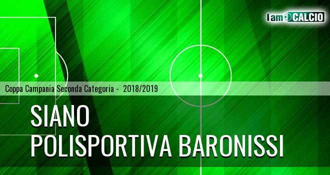 Siano - Polisportiva Baronissi