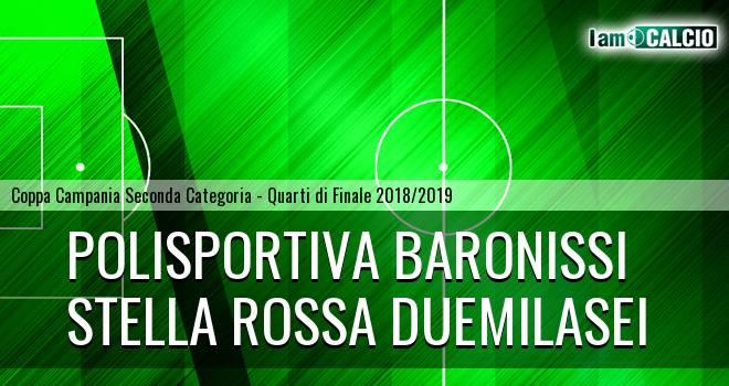 Polisportiva Baronissi - Stella Rossa Duemilasei