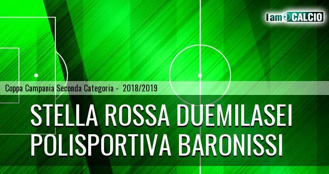 Stella Rossa Duemilasei - Polisportiva Baronissi