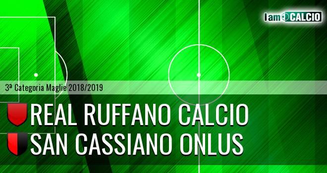 Real Ruffano Calcio - San Cassiano Onlus