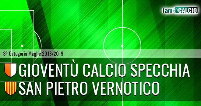 Gioventù Calcio Specchia - San Pietro Vernotico