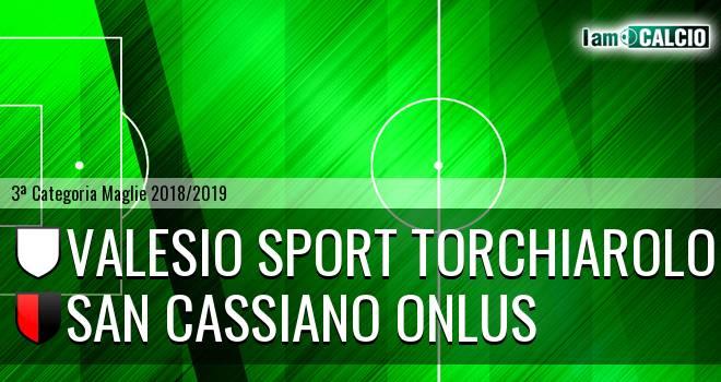 Valesio Sport Torchiarolo - San Cassiano Onlus