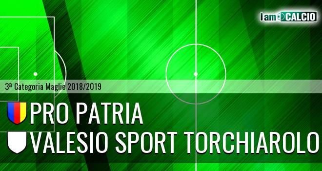 Pro Patria - Valesio Sport Torchiarolo