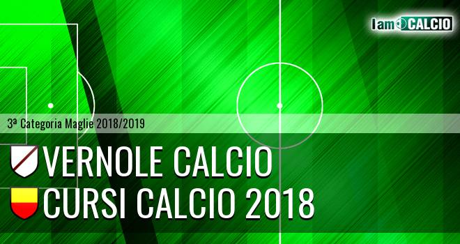 Vernole Calcio - Cursi Calcio 2018