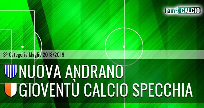 Nuova Andrano - Gioventù Calcio Specchia