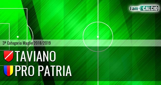 Taviano - Pro Patria
