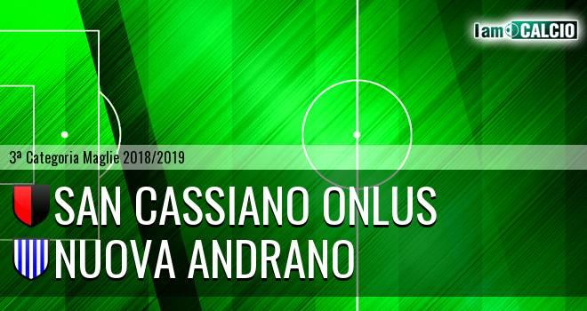 San Cassiano Onlus - Nuova Andrano