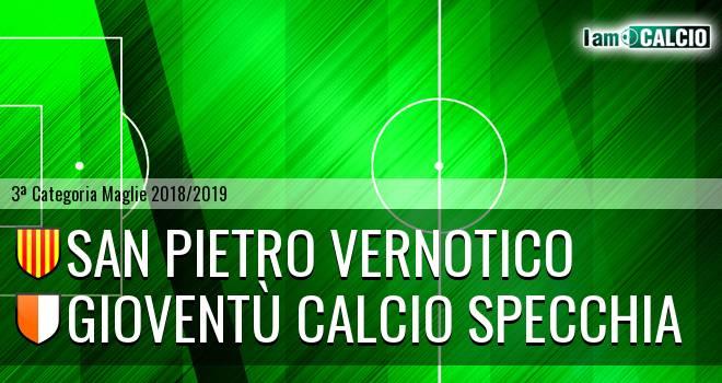 San Pietro Vernotico - Gioventù Calcio Specchia
