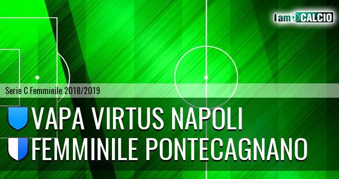 Vapa Virtus Napoli - Femminile Pontecagnano