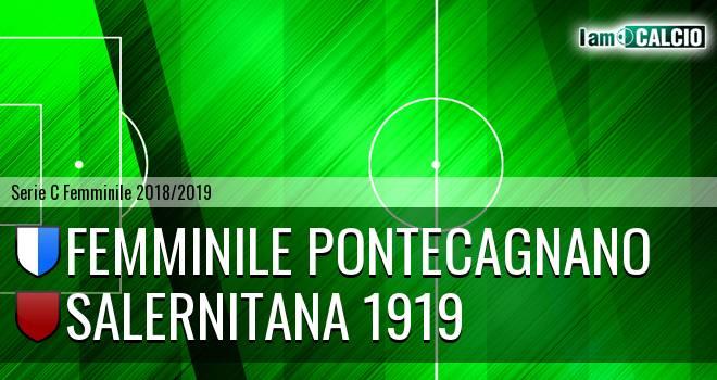Femminile Pontecagnano - Salernitana 1919
