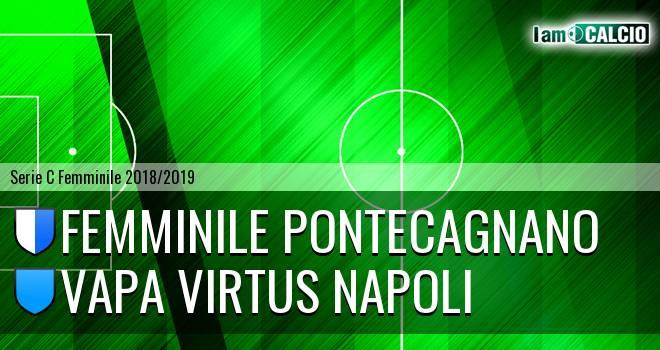 Femminile Pontecagnano - Vapa Virtus Napoli