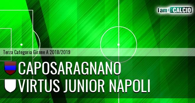 Caposaragnano - Virtus Junior Napoli