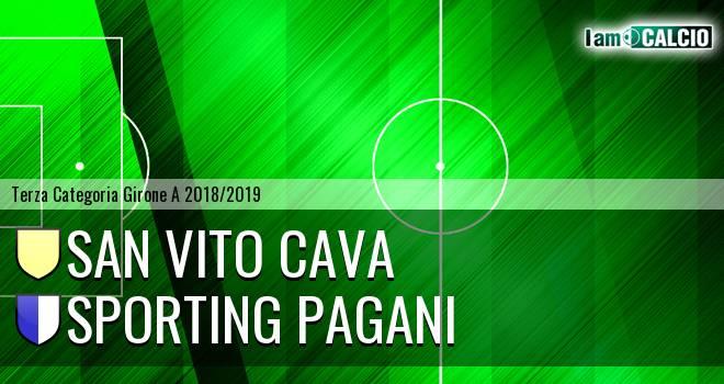 San Vito Cava - Sporting Pagani