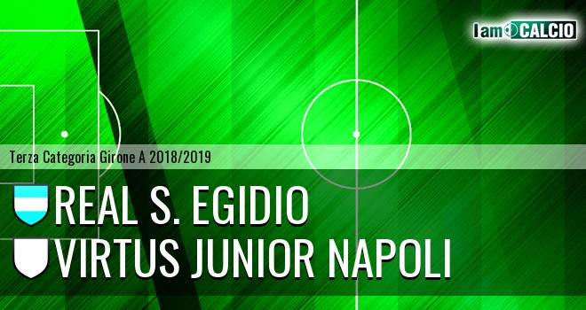 Real S. Egidio - Virtus Junior Napoli