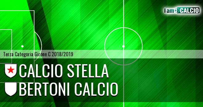 Calcio Stella - Bertoni Calcio