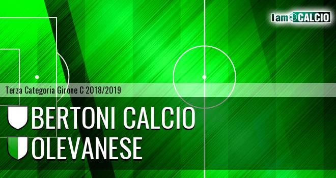 Bertoni Calcio - Olevanese