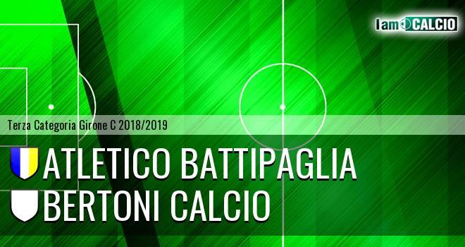 Atletico Battipaglia - Bertoni Calcio