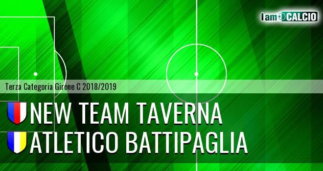 New Team Taverna - Atletico Battipaglia