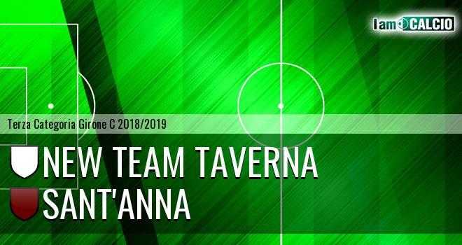New Team Taverna - Sant'Anna