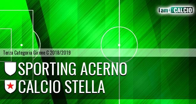 Sporting Acerno - Calcio Stella