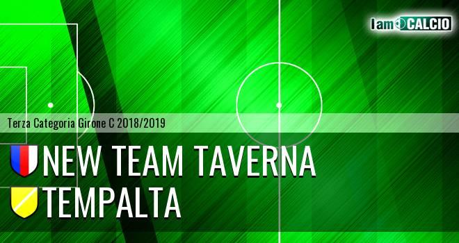 New Team Taverna - Tempalta