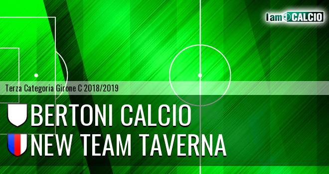 Bertoni Calcio - New Team Taverna