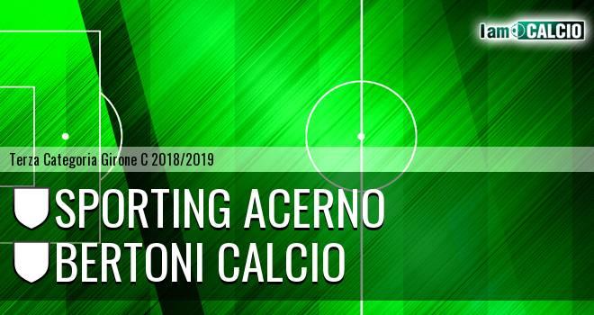 Sporting Acerno - Bertoni Calcio