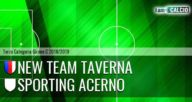 New Team Taverna - Sporting Acerno