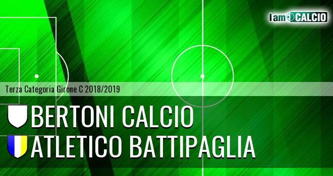 Bertoni Calcio - Atletico Battipaglia