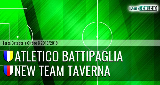 Atletico Battipaglia - New Team Taverna