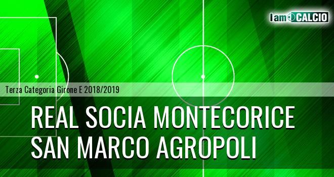Real Socia Montecorice - San Marco Agropoli