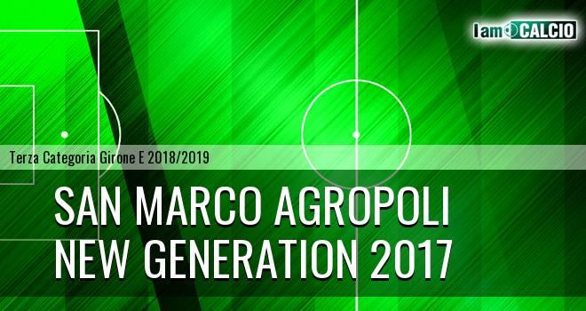 San Marco Agropoli - New Generation 2017