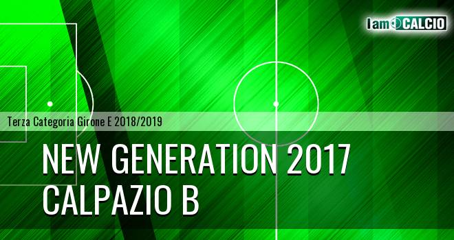 New Generation 2017 - Calpazio B