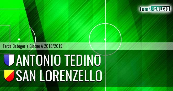 Antonio Tedino - San Lorenzello