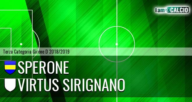 Sperone - Virtus Sirignano
