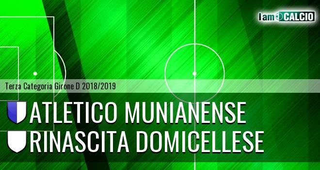 Atletico Munianense - Rinascita Domicellese