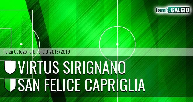 Virtus Sirignano - San Felice Capriglia